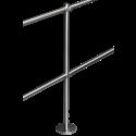 Stalp intermediar 180° din INOX, suport balustrade din INOX