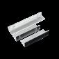 Suport pentru montarea electromagnetilor SM-500LEDA pe usi cu deschidere la interior.