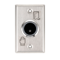 Buton de iesire incastrabil, fara atingere, 12Vcc, NO/NC, LED stare suplimentar