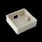 Carcasa pentru montarea aplicata a butoanelor din plastic