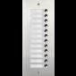 Panou de extensie cu 12 butoane de apel pentru DMR21