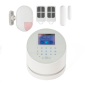 Kit alarma wireless, comunicatie GSM, WIFI, PSTN, 99 zone