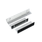Suport inoxidabil din duraluminiu pentru montarea electromagnetilor de 500kgf cu buzzer la usi cu deschidere in interior