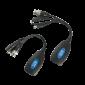 Passzív videó ballon CCTV rendszerekhez UTP kábelen való jelátvitelre tápátvitellel