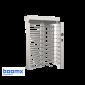 Turnichet vertical semi-automat, rezistent la apa, cu o cale de acces BOOMX