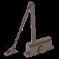 Amortizor hidraulic cu brat, pentru usi de 25-45kg, maro