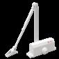 Amortizor hidraulic cu brat, pentru usi de 25-45kg, alb