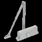 Amortizor hidraulic cu brat,pentru usi de 60-85kg, argintiu