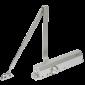 Amortizor hidraulic cu brat, pentru usi de 60-150kg, argintiu