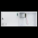Cabinet multifunctional pentru centrale de control acces 12~14.1Vcc / 5A, backup, alb