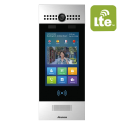"Video interfon IP SIP, post de apel cu ecran touchscreen de  7""si comunicatie LTE"