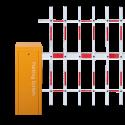 Corp de bariera acces auto cu brat de tip gard dublu cu lungimea de 4 m(neinclus)