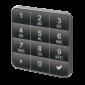 Incuietoare standalone cu tastatura pentru vestiare (dulapuri), cu cod predefinit