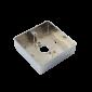 Carcasa pentru montarea aplicata a butoanelor din metal