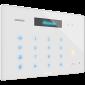 "Audio interfon IP SIP, cu afisaj OLED de 2.23"", tastatura numerica si icoane tactile iluminate, front de sticla"