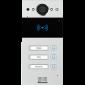 Video interfon IP SIP, post de apel cu 3  butoane