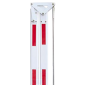 Brat de bariera pliabil la 180° de 3m