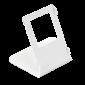 Suport alb pentru montarea pe birou a videointerfoanelor IP din seria C313 si C315, monitoare cu diagonala de 7''