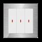 Comutator inteligent metalic - 3 canale