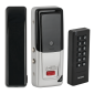 Controler stand-alone cu card si PIN, tastatura WIRELESS, incuietoare WIRELESS si telecomenzi