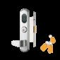 Incuietoare stand-alone cu carduri de proximitate EM  (125KHz), cheie mecanica si buton interior