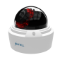 Camera video IP dome pentru exterior, 2MP, IR 15m, WDR