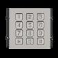 Modul tastatura mecanica iluminata, capacitiva, pentru posturile de apel modulare DT 821 cu comunicatie pe 2 fire.