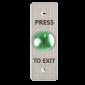 Buton de iesire incastrabil/aplicabil cu carcasa, NO/NC