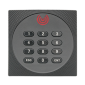 Cititor de proximitate cu tastatura si dual RFID EM 125 kHz si MF 13.56 MHz, cu comunicatie RS485 si OSDP