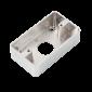 Carcasa metalica pentru montarea aplicata a butoanelor