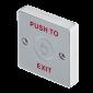 Buton de iesire aplicabil, cu atingere si cu led de stare