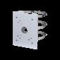 Suport de montare stalp, SECC si SUS304, alba, 130.4x170x45 mm, ɸ80~150 mm, Dahua