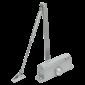 Amortizor hidraulic cu brat, pentru usi de 40-65kg, argintiu