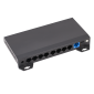 Switch ethernet PoE+, 8 porturi 10/100 Mbps POE+ downlink, 1 port 10/100 Mbps uplink