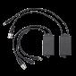 Video balun (transmitator - receptor) pentru cablu ZH-P06T/ ZH-P06W