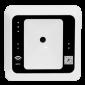 Scaner coduri de bare 1D/2D cu cititor RFID integrat, alb